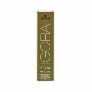 Schwarzkopf IGORA ABSOLUTES Professional Permanent Hair Color ~2.1 fl oz / 60 ml