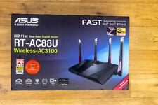 ASUS RT-AC88U 3167 Mbps Gigabit Wireless AC Router - Mint cond (90IG01Z0-BU2000)