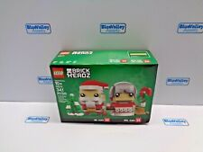 Lego 40274 Brick 'H'Eadz Mr. And Mrs. Claus New