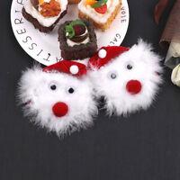 Christmas Santa Claus Pasties Reusable Adhesive Nipple Sticker Xmas Party Gifts