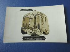 1910 Postcard C.W. Parker Amusement Co. Leavenworth, Ks. Kiddie Chair O Plane