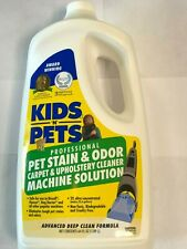 KIDS N PETS Odor and Pet Stain Carpet and Upholstery Cleaner Machine Solution
