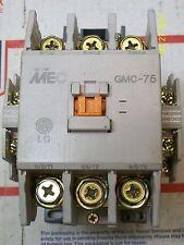 META MEC CONTACTOR 220V COIL GMC-75 (broken tab) & 2 AUXILIARY CONTACT GMC(D)-75