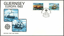 Guernsey 1982 Europa FDC First Day Cover #C32312