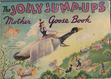 The Jolly Jump-ups. Mother Goose Book. 1944. pop-up vintage book.