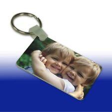 Schlüssel Anhänger mit Ihren Fotos und Text   Metall 40x57 mm   beidseit. Druck