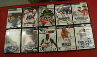 Lot of 10 Used PlayStation 2 Sports Games (PS2)