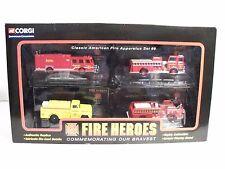 CORGI FIRE HEROES SHOWCASE CLASSIC AMERICAN FIRE APPARATUS SET #9 IN DISPLAY NEW