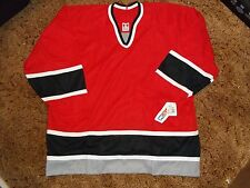 Buffalo Sabres Alternate Jersey Size XXL CCM NWT Vintage Red Blank Uncrested