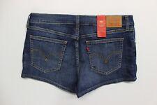 Women's Levi's Coolmax Shortie Shorts (299630004) Bridge Of Blue - Tag Size 31