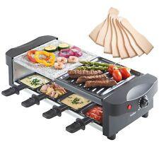 VonShef Appareil à Raclette Grill et Raclette - Thermostat réglable 8 personnes