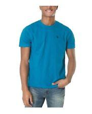 U.S. Polo Assn. Men's Crew Neck Small Pony T-Shirt Delancey Blue 113904