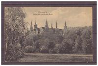 Ansichtskarte - Merseburg - Blick auf Schloß und Saale 1922 AK