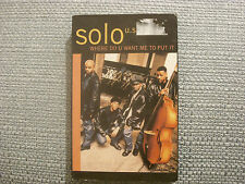 Solo: Where do u want me to put it   Cassingle   NEW EX SHOP STOCK