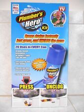PLUMBERS HERO KIT - 20 USES IN EVERY CAN - OPENS UNCLOG DRAINS INSTANTLY