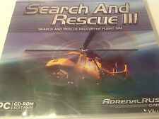 SEARCH AND RESCUE 3:HELICOPTER FLIGHT SIM. BRAND NEW PC Game - D