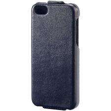 iPhone Tasche: Stilvolle Klapp-Schutztasche für iPhone 5c, schwarz