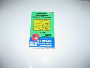Naturpark Texelgruppe - Meraner Höhenweg  - Kompasskarte 043