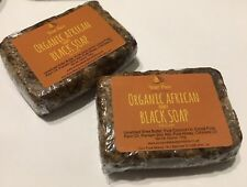 Organic African Black Honey Soap  x2-100g Bars (Made in Ghana)