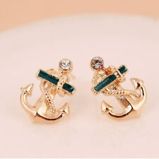 Sailor Anchor Stud Earrings