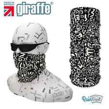 G364 Black Eco bike ski Headgear Neckwarmer multifunctional Bandana Headband