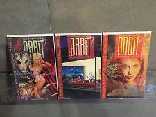 ORBIT(1990) #1 2 3 1-3 COMPLETE SET GRAPHIC SCIENCE FICTION