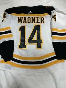 GAME WORN GAME USED JERSEY CHRIS WAGNER BOSTON BRUINS CHINA GAMES PATCH