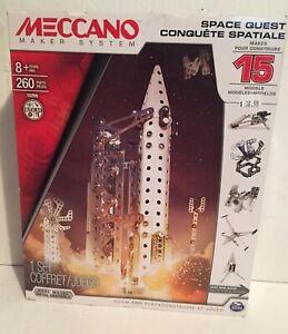 Mecano Maker System Space Quest Rocket Model Kit