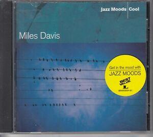 Jazz Moods: Cool by Miles Davis (CD, Jun-2004, Columbia/Legacy)