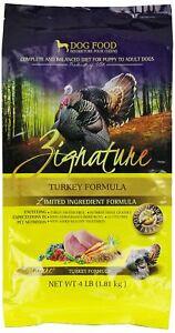 ZIGNATURE Dog Food Turkey (4 lb)