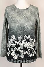 NEW WOMEN  TUNIC BLOUSE size 12/14 TOP   LONG SLEEVE  LADIES    5499