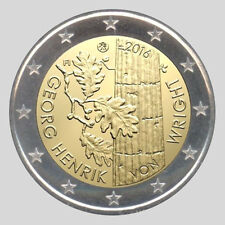 Finland 2016 - 2 Euro Comm - 100th Ann. Birth of Georg Henrick van Wright (UNC)