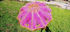 Handcrafted Garden Umbrella Sun Shade Umbrella Cotton Big Parasols Outdoor Decor