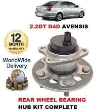 Para Toyota Avensis 2.2 Dt D4d 2005-2009 Nuevo Rueda Trasera teniendo hub kit de montaje