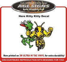 Here Kitty Kitty ski-doo Decal Original design!  Born to ride!  rev mxz xp