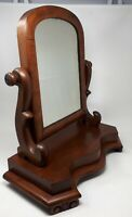 Antique Mahogany Victorian Dressing TableTilt Mirror 52 cms Tall x 46 cms wide