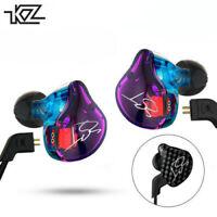 KZ ZST Pro Armature Dual Driver Earphone Sports Detachable Cable Earbuds w/ Mic