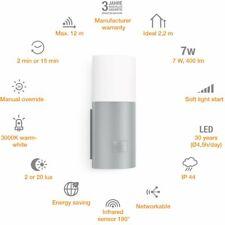 Steinel Design Sensor Außenleuchte L900 Silber Uplight warmweiß Bewegungsmelder