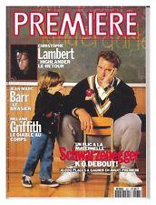 Revue magazine du cinéma PREMIERE #167 02/1991 CHRISTOPHE LAMBERT