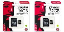Kingston Canvas Select 16GB 32GB 64GB 128GB 256GB MicroSDHC UHS-I C10 lot SDCS