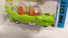 2014 Hot Wheels #89 HW City THE HOMER green The Simpsons Homer`s car design