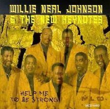 Willie Neal Johnson & New Keynotes - Help Me To Be Strong -New Factory Sealed Cd