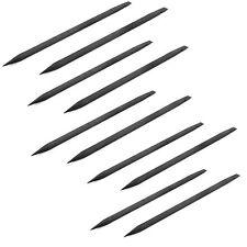 10 Pcs- ESD Safe Black Stick Spudger iPhone Pry Tool Macbook Pro Logic Board Air