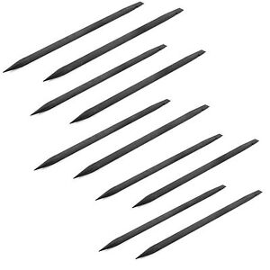 New Lot of 50 Nylon Black Spudger Stick Open Pry Tool for iPhone 4 4S 5 5S ipod