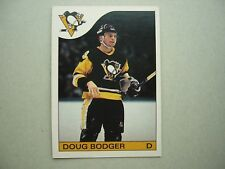 1985/86 O-PEE-CHEE NHL HOCKEY CARD #38 DOUG BODGER ROOKIE NM SHARP!! 85/86 OPC