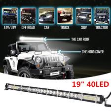 19inch 300W LED Light Bar Car Driving Fog Light White 6500K DC 12V Universal
