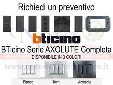 Bticino Axolute - PREVENTIVO supporti placche interruttori prese accessori