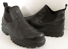 NIKE ACG All-Trac BOOTS Waterproof LEATHER Mens Sz. 9 BLACK Ankle GREAT Look   m