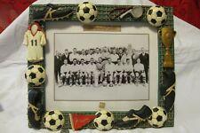 """Russ Recaptured Goals~Vintage Look~Soccer~ 8""""/10""""Picture ,frame 10""""/12"""""""