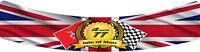TT RACES VISOR STICKER 25cm x 3cm MOTORBIKE HELMET SUN BLOCK  TT